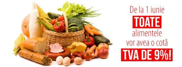 Reducerea TVA la 9% carne, legume – fructe –  obiectivul Guvernului Ponta