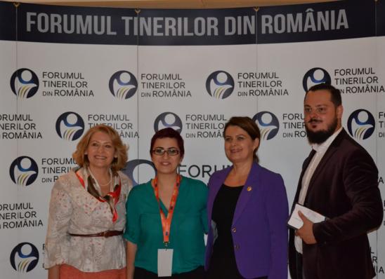 Consiliul Naţional al Tinerilor din România- despre tineri, solidaritate, implicare, participare