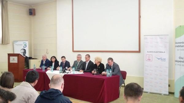 Călin Popescu Tăriceanu susține candidații PSD+ALDE la Consiliul Local Cluj-Napoca!