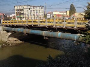 Podul Traian împlinește trei ani de când a fost lăsat în paragină de  Emil Boc!