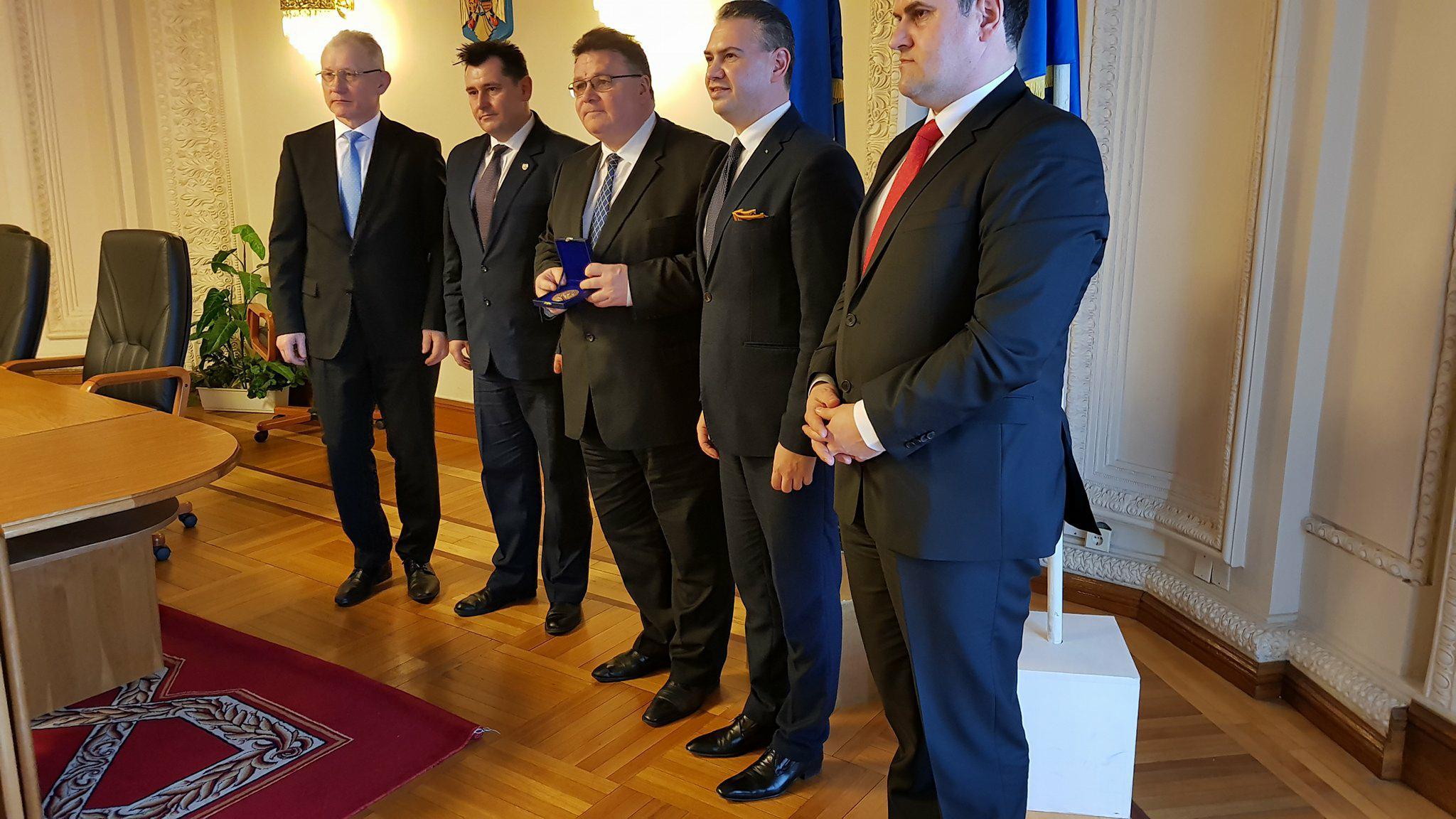 Vasile Ilea, în delegaţia oficială care s-a întâlnit cu ministrul de externe al Lituaniei!
