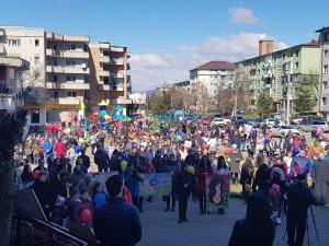 """Dejenii şi primarul Costan Morar au participat la """"Marșul pentru viață"""""""