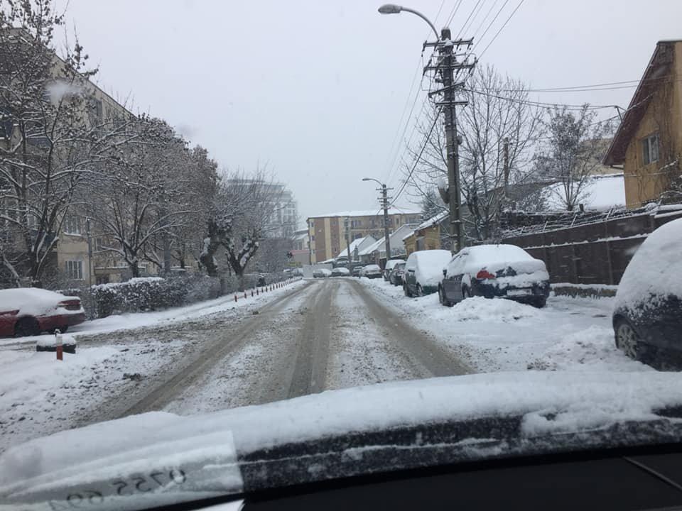 """PSD Cluj, atac la primărie şi firmele de deszăpezire. """"Oare Domnul Emil Boc și a sa camarilă așteaptă ca robotul Antonia să deszăpezească străzile orașului?"""""""