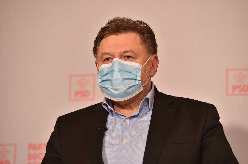 Conferință de presă susținută de Alexandru Rafila la sediul PSD