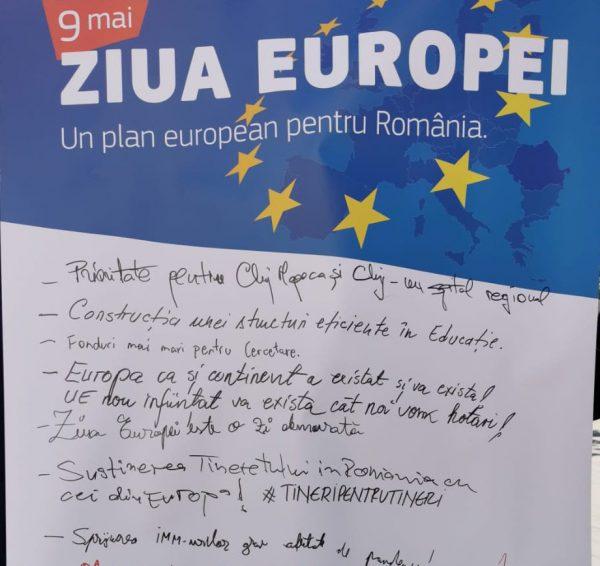Social-democrații clujeni au dezbătut planul de reziliență pe Bulevardul Eroilor