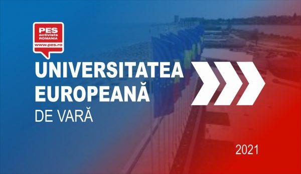 Apel pentru începerea de urgență a programelor europene pentru perioada financiară 2021-2027 lansat de către PES activists România în cadrul Universității de Vară!